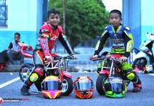 7 Berlian Payakumbuh Turunkan Dua Pembalap Cilik di Final LENKA MiniGP Cup Race 2017
