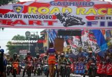 Gadhuro Road Race Wonosobo 2018 Diserbu 275 Starter, Hadir Sulung Giwa dan Rusman Fadhil