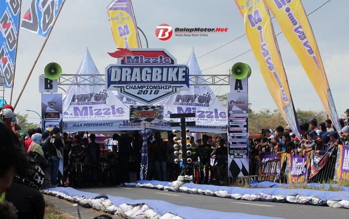 Mizzle Drag Bike Seri 2 Cilacap 2018: Catatan Waktu 'Edyan' Disemua Kelas