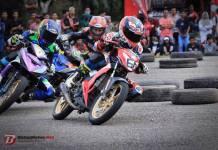 Rider Pemula Ini Acak-Acak Seeded di Final Kejurda Balap Motor IMI Aceh 2018