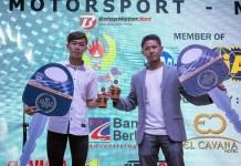 Duo MPRT Raih Penghargaan Juara Umum IMI Jabar Award