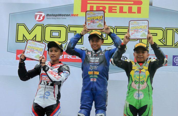 Motoprix Race 2 (Rookie): Disuport Galang, Aldi Satya Menang!