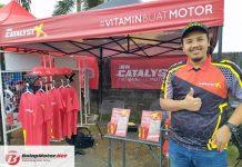 Catalyst X Hadir di Kejurnas Motoprix Tasikmalaya 2019, Jadi Vitamin Untuk Motor Juara!