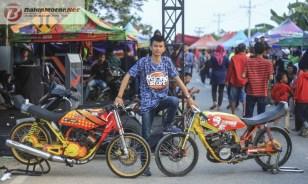 galeri foto aksi jitu 201m academy drag bike lampung tengah 21-22 september 2019 (133)