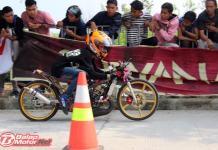 Lewat Noka Romano, Pasukan BSHK Sabet Juara Umum Medan Drag Bike