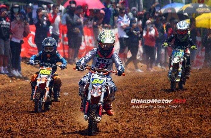 Adiknya Aqiela ABRT20 Rambah Motocross, Dimentori Deny Orlando!