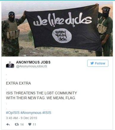 ISIS NEW FLAG