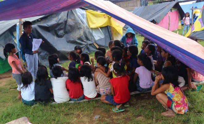 psychosocial support mindanao earthquake magpet