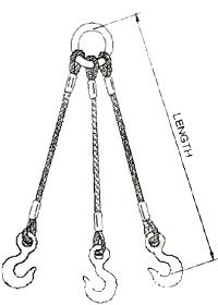Multiple Leg Rope Slings, Slings Suppliers in India