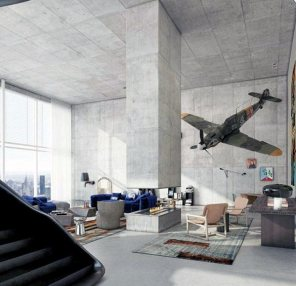 concrete-ultimate-bachelor-pad-designs