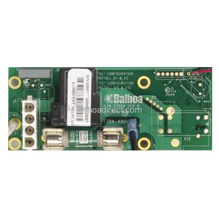 Balboa Circuit Board Ext Relay Us W 30amp 53681 Products