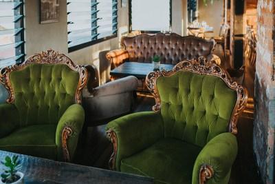 Balboa Italian Restaurant Palm Beach, Lounge. Photography by Hayley Williamson
