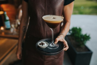 Balboa Italian Restaurant Palm Beach, Espresso Martini. Photography by Hayley Williamson