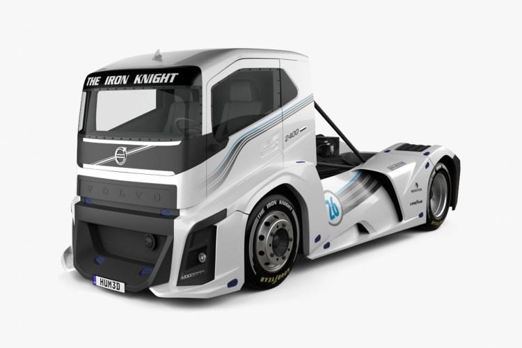 imagem do caminhão mais rápido do mundo