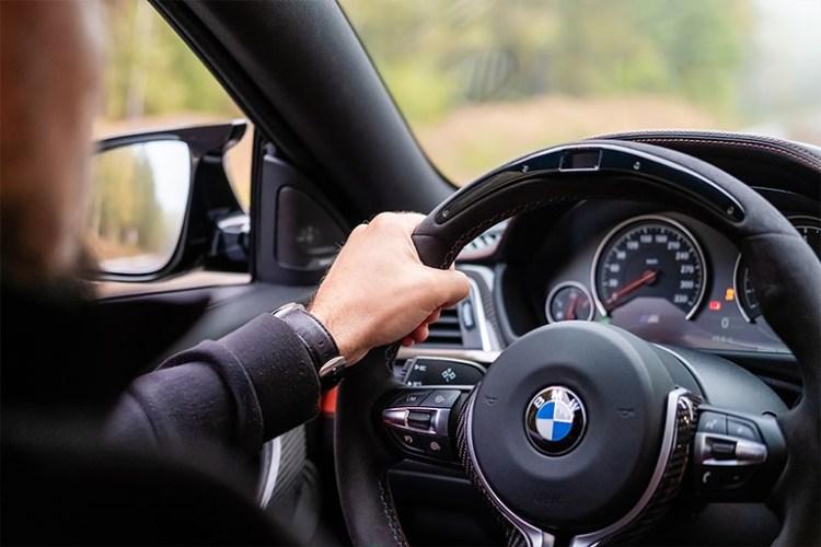 Interior de uma BMW