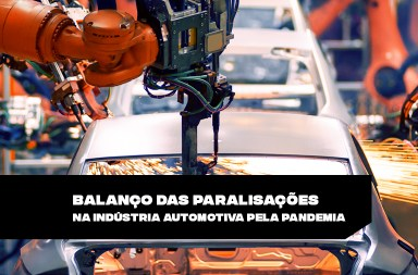 Paralisações na indústria automotiva pela pandemia