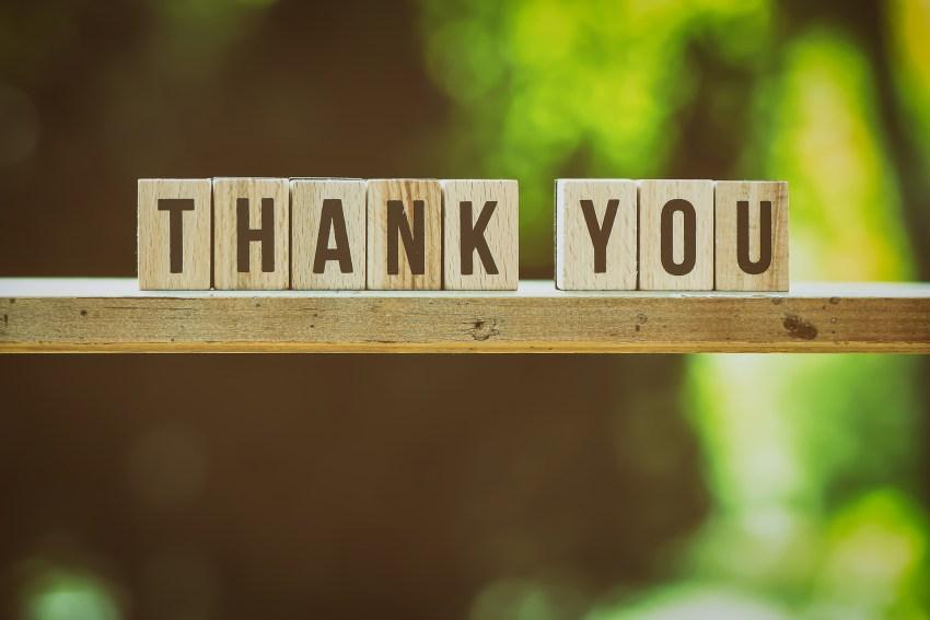 Sentir y expresar tu gratitud.