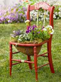 22 Cool Chair planter ideas for Home and Garden   Balcony ...