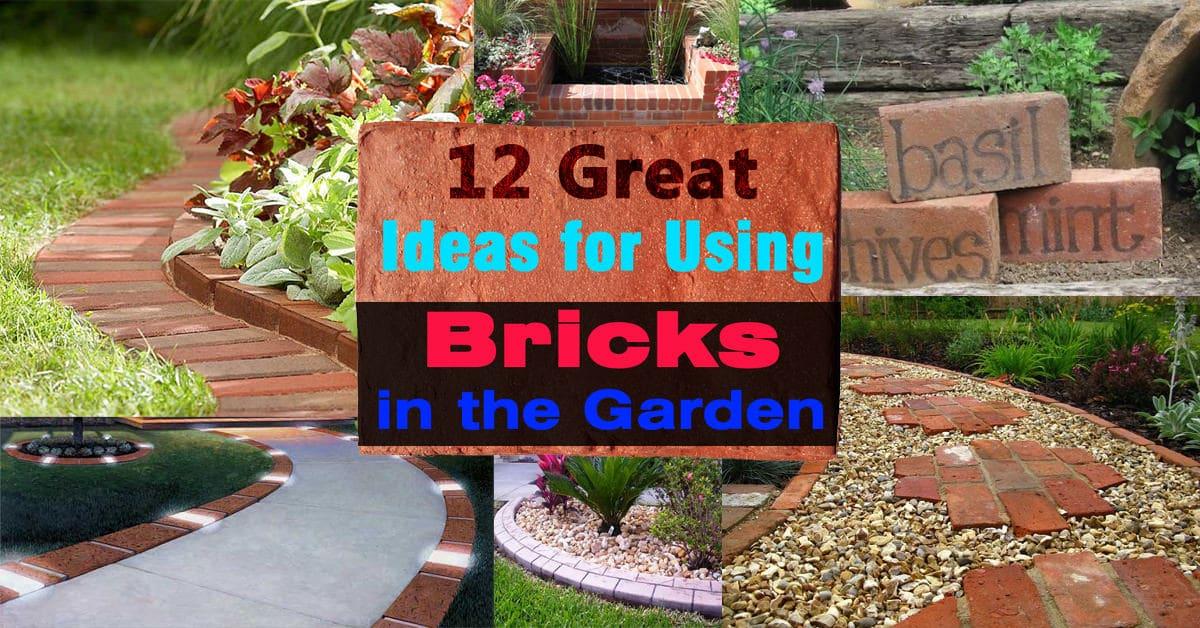 Using Bricks In The Garden Ideas For Garden Design