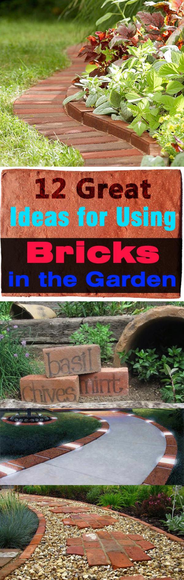 bricks in garden smart