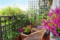 8 Apartment Balcony Garden Decorating Ideas you Must Look