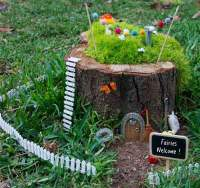 10 Amazing Tree Stump Ideas for the Garden