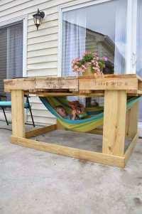 20 Amazing DIY Garden Furniture Ideas   DIY Patio ...