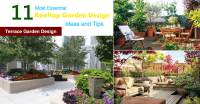11 Most Essential Rooftop Garden Design Ideas and Tips ...