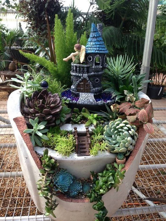 Magical Fairy Garden Ideas You & Your Kids Will Love Balcony
