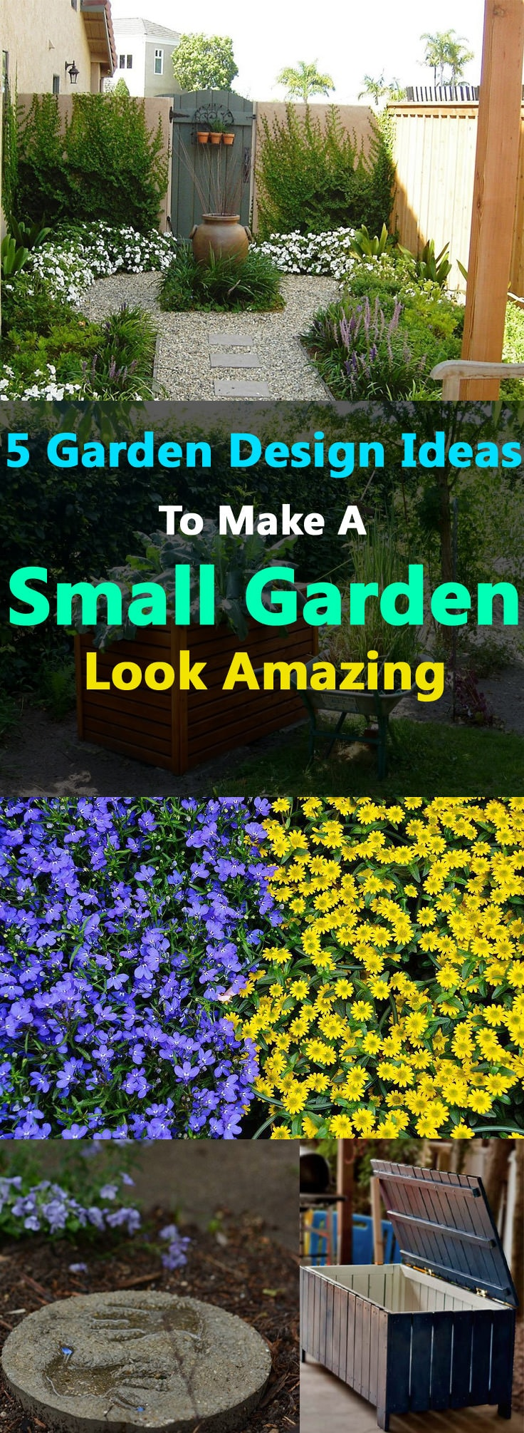 Garden Ideas Small Gardens Designs