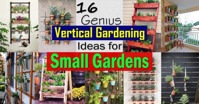 16 Genius Vertical Gardening Ideas For Small Gardens Balcony Garden Web
