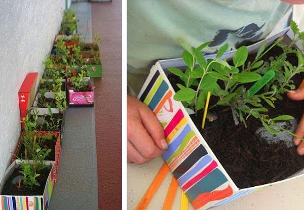 DIY Cardboard Projects & Ideas For Garden Balcony Garden Web