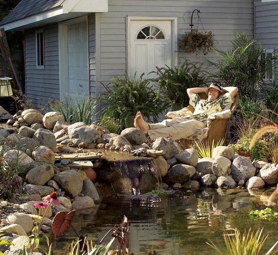diy water pond ideas