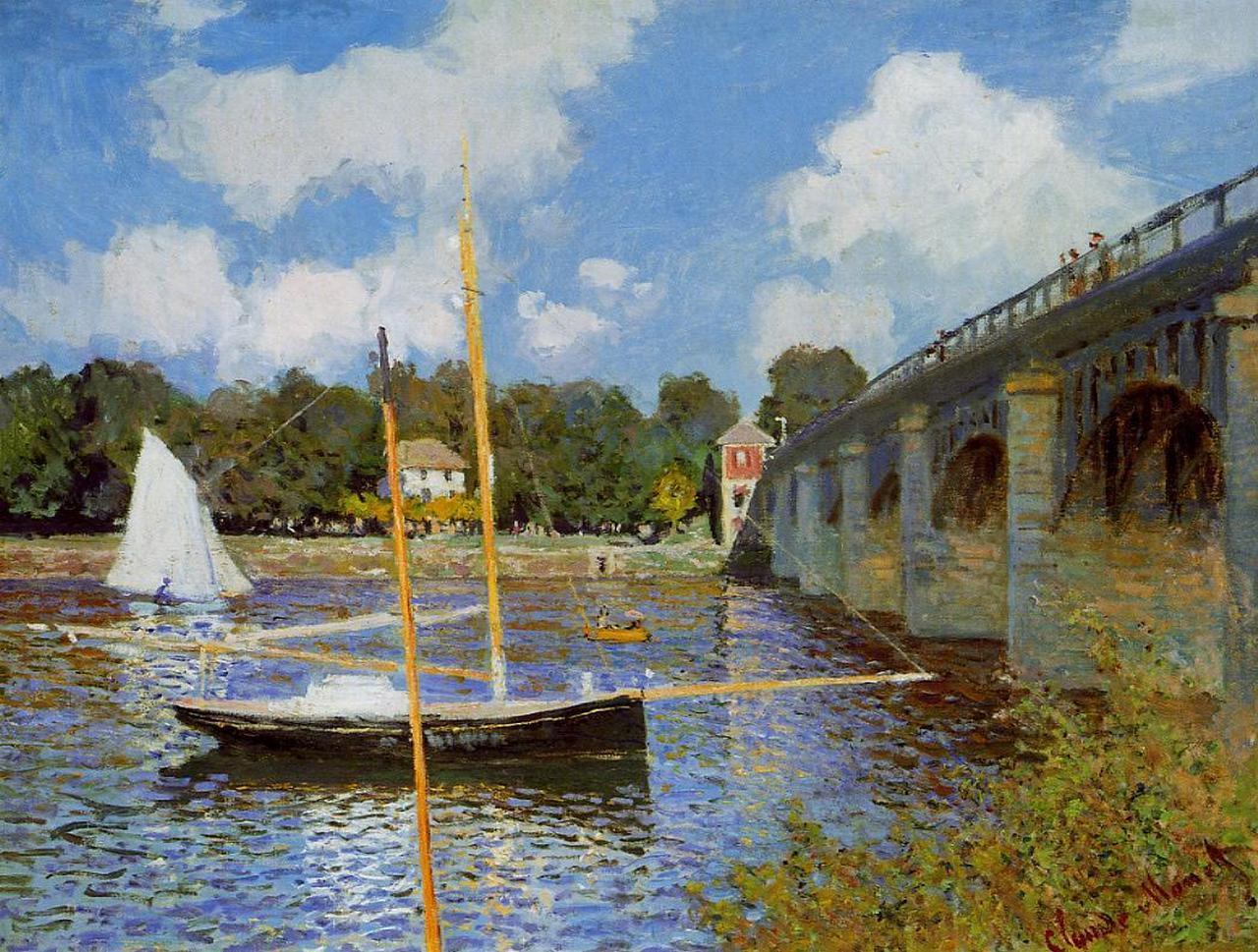Monet Bridge at argenteuil