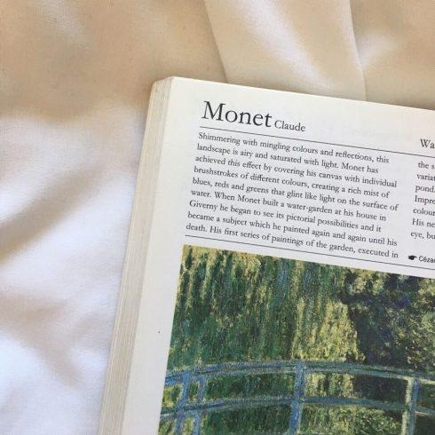 Monet Dark Academia