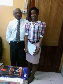 Team member at the St. Thomas CCU Ltd