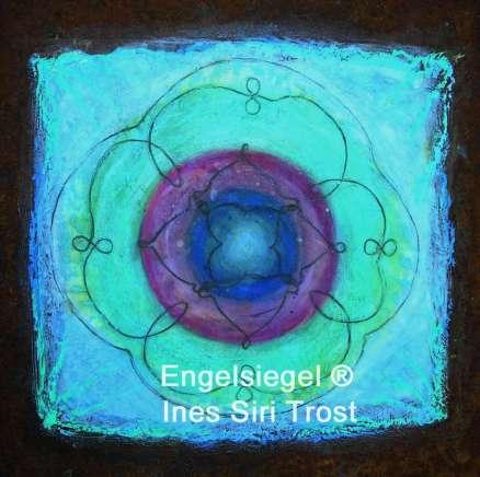 Abbildung einer Engelsiegeleinzelkarte