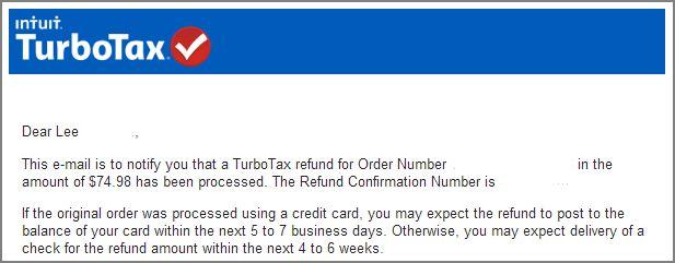 Power of Twitter - TurboTax refund