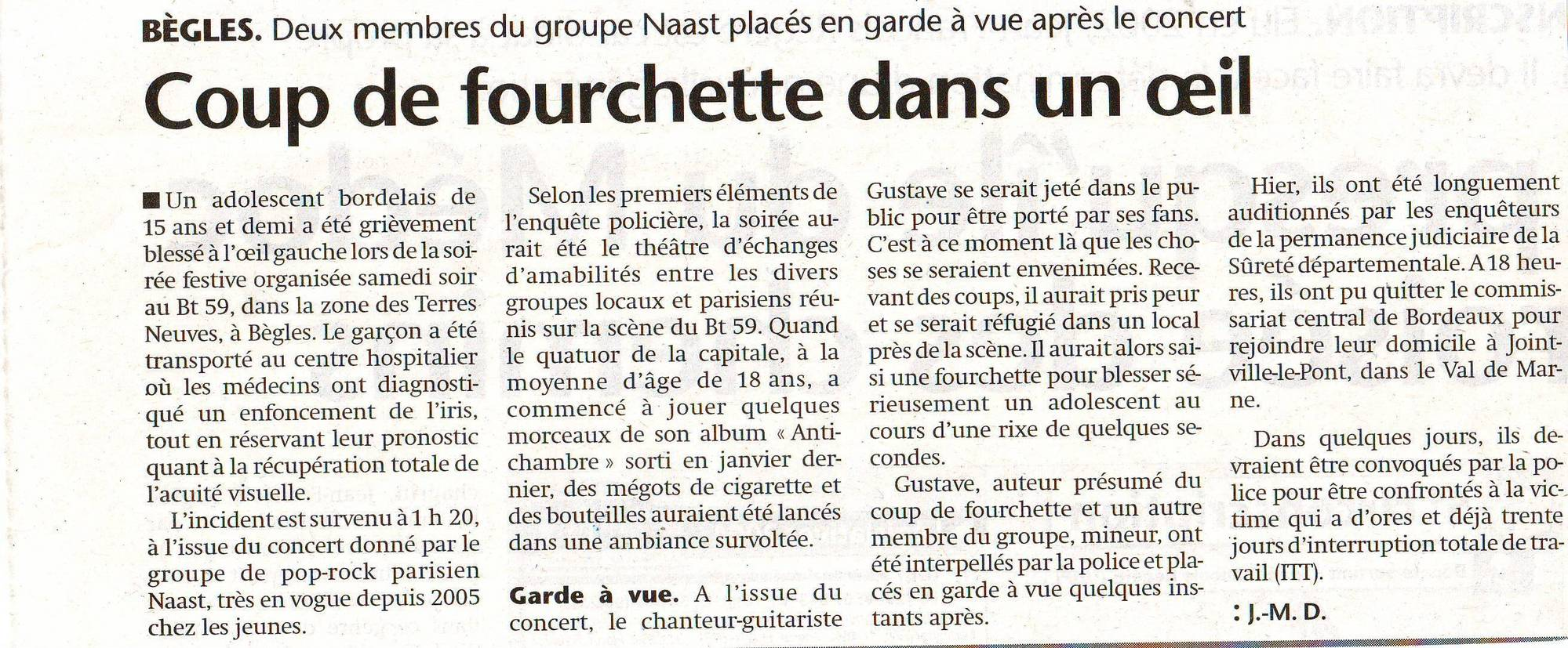 nasst n' fourchette
