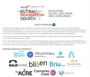 Read more about the article BaldPhone is on semi finals on Global Innovation Search! Help us win!