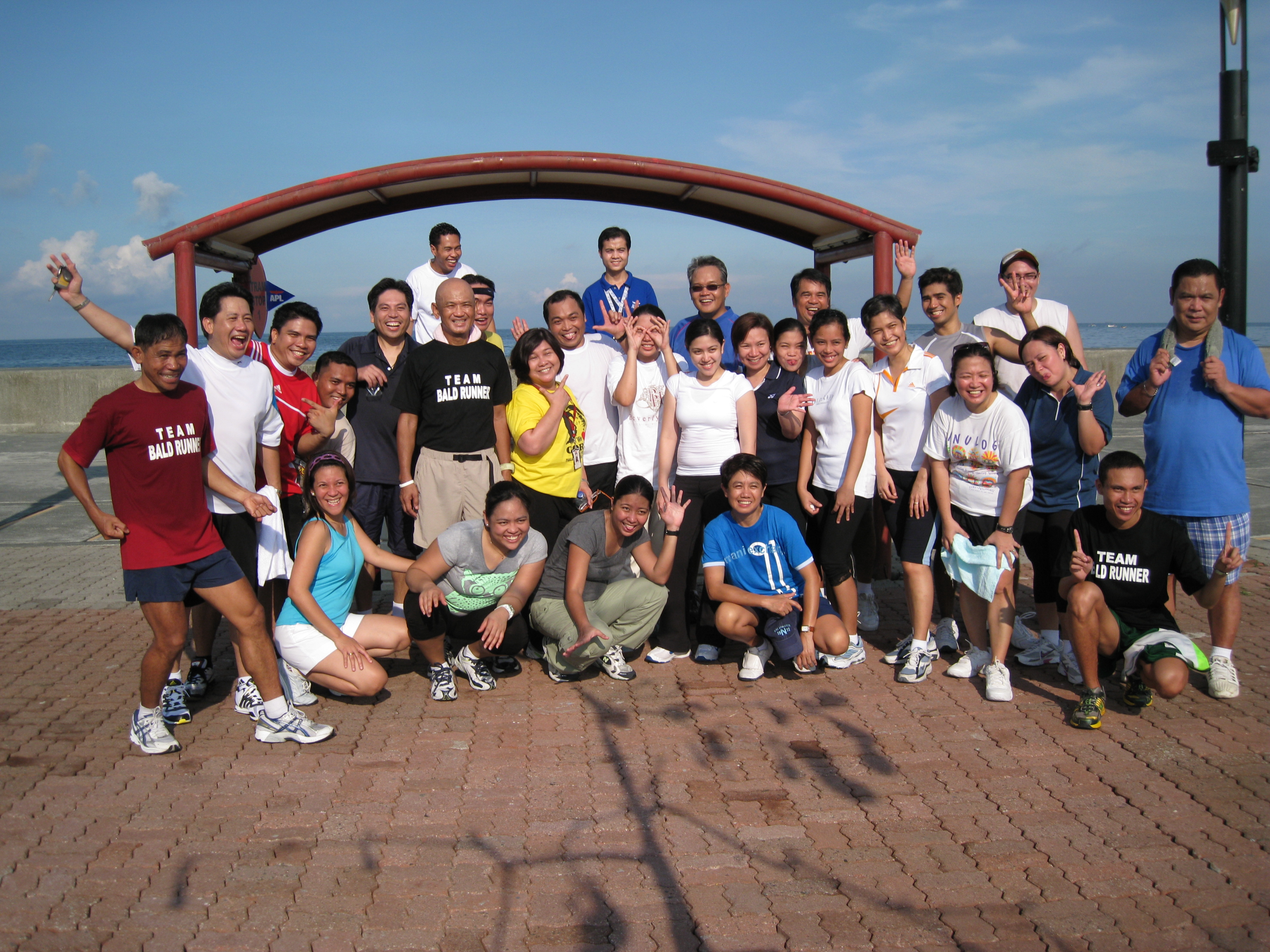 Group Picture After The Running Clinic