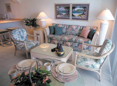 Worldmark by Wyndham Coral Baja living room