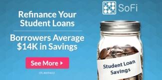 SoFi refinance student loans