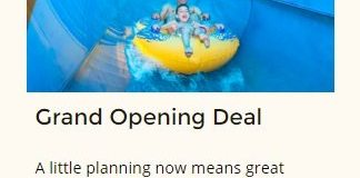 Great Wolf Lodge Southern California grand opening discount