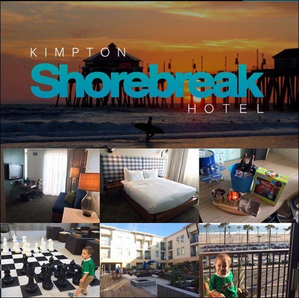 Kimpton Shorebreak Hotel collage