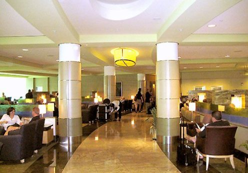 American Airlines Admirals Club lounge in Miami