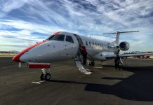 JetSuiteX Concord arrived in style