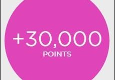 Citibank 30000 Elevate points