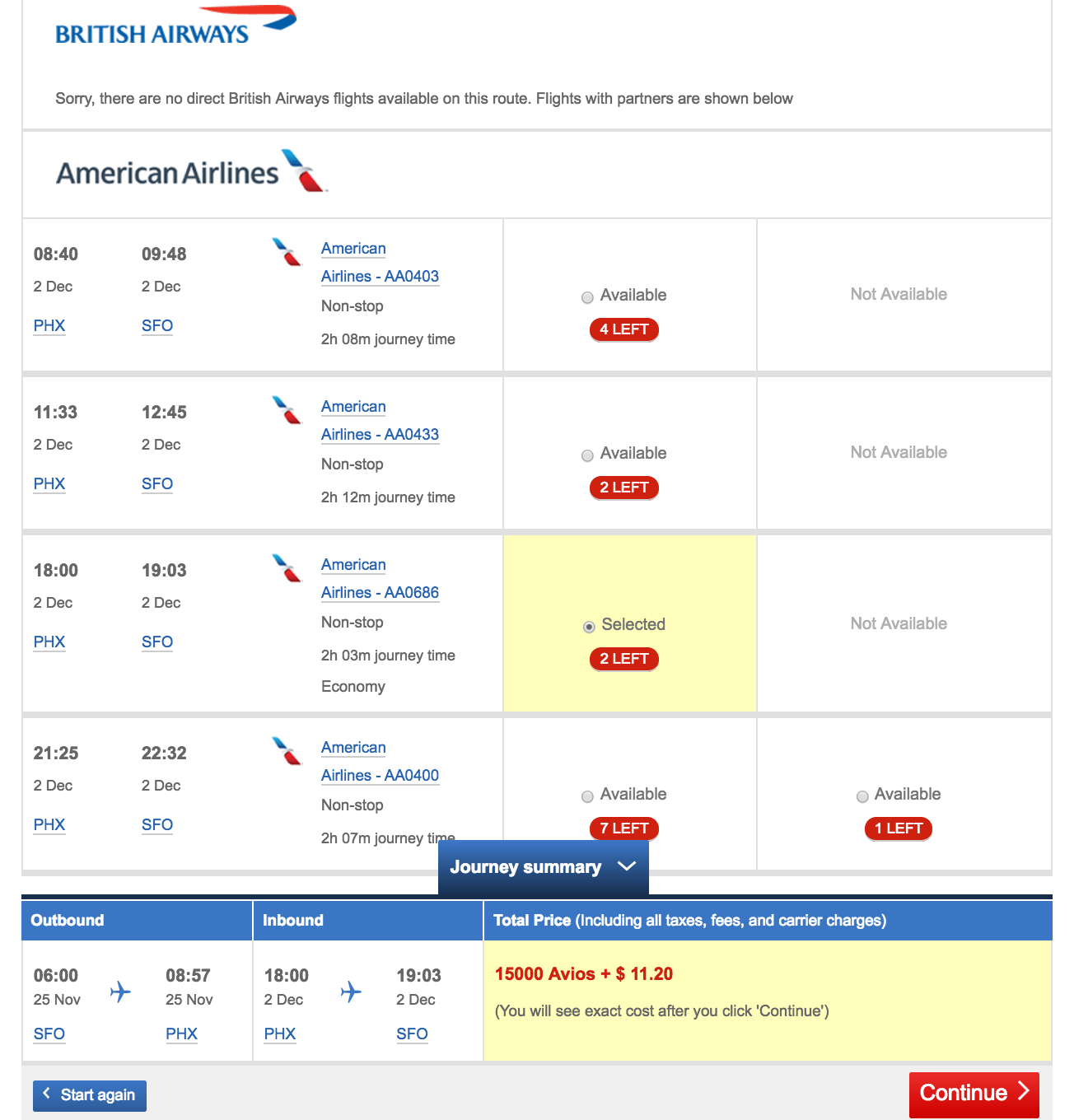 How Do I Use British Airways Avios To Book American