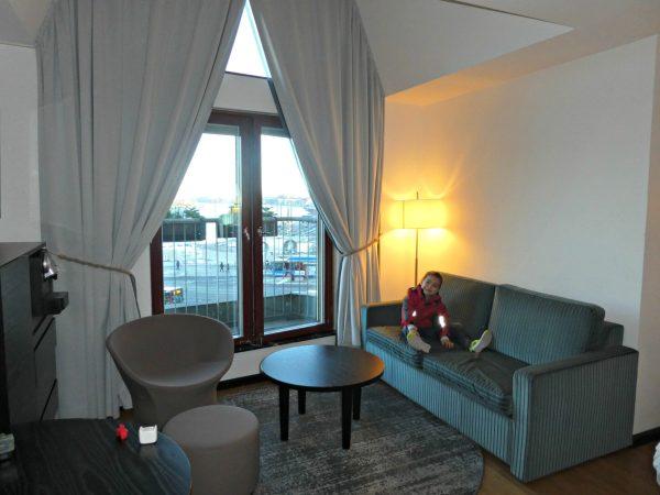 Hilton Stockholm Slussen living room